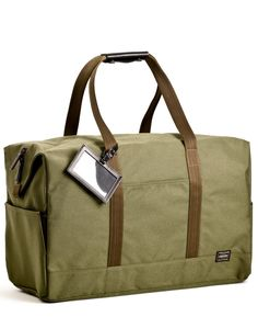 Give dad an easy way to get up and go with one of the new crop of duffel bags like this one ($440), which has plenty of compartments, including one for shoes. and is available in olive, black and navy,