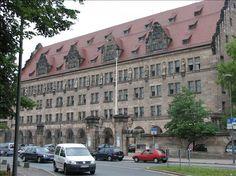 nuremberg germany   Nurnberg Court house - Nuremberg, Germany Travel Photo