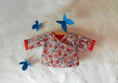 Tuto couture : Cache-coeur brassière réversible pour bébé