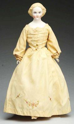 Emma Clear Parian Doll.