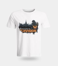 Tom Clancy's The Division Toxic City T-Shirt - Numskull T Shirt Art, Casual T Shirts, Tee Shirts, Tom Clancy The Division, Shirt Outfit, Toms, Mens Fashion, City, Mens Tops
