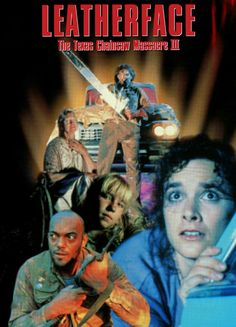 Leatherface The Texas Chainsaw Massacre Part 3 Horror Movie Slasher Poster