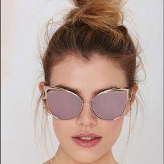 4c6346b2dcd Cat eye sunglasses blue colored lense NWT Cat eye sunglasses blue colored  lense NWT Accessories Sunglasses