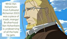 Kinda dropped FMA 2003. Credit goes to confessions of an animangaholic on tumblr.