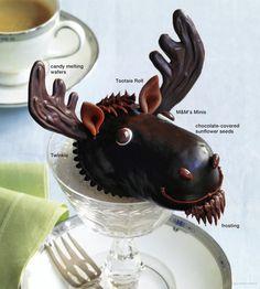 how to make moose cupcakes more holidays cupcakes beautiful cupcakes ...