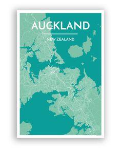 Auckland City Map