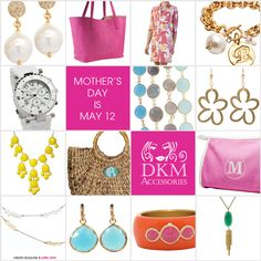 Gifts for Mom.  #mothersday #gifts  http://dkmaccessories.wordpress.com