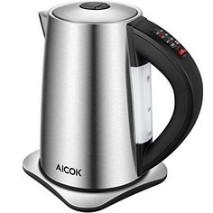 01361a47922 BAE  Aicok Electric Kettle Variable Temperature Control Water Kettle with 6  Temp Setting and Keep Warm Function Stainless Steel Kettle