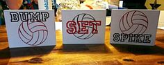 Super cute gift idea for the #volleyball team!