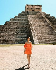 what's behind me happens to be part of the seven wonders of the world 🧡 Julia Barretto Fashion, Julia Baretto, Tulum Mexico, Seven Wonders, Mexico Vacation, Mayan Ruins, Filipina, Everyday Look, Star Fashion