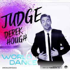 Get down with Derek Hough!