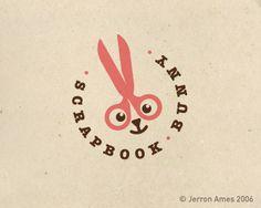 Logos Criativos com Tesoura | Criatives | Blog Design, Inspirações, Tutoriais, Web Design