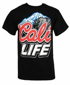 Amazon.com: Private Label Men's California Republic Cali T-Shirt: Clothing