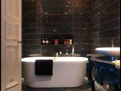 Marble Black Bathroom