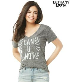 Bethany Mota's collection   I need this shirt I say this all the time.