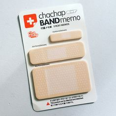 Band Aid Sticky Notes Medical Plaster Post It by dadastickers