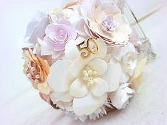 MagicArt / Papierová kytica Paper Flowers, Bouquet, Bouquets, Floral Arrangements, Nosegay