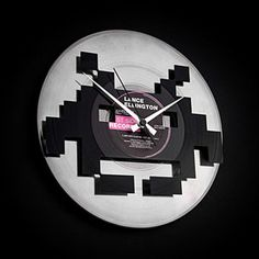 Orologio Space invaders by Disc'O'Clock