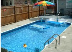 Inground Pool Patio Designs swimming pool rectangular inground pool with small fountain pool ideaspatio Find This Pin And More On Backyard Ideas In Ground Swimming Pools Backyard