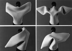 Maria Blaisse / Kuma Guna 1996, foam costumes for dance