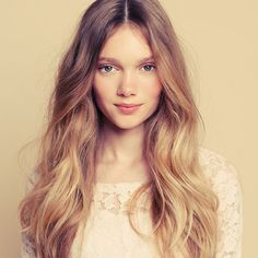 """Traditional highlighting techniques like ombre effects and blonde shades have suffered a serious defeat, after the arrival ofRead More """"Natural Balayage Hair Color Ideas"""" Formal Hairstyles, Pretty Hairstyles, Wedding Hairstyles, Wavy Hairstyles, Long Haircuts, Modern Haircuts, Updo Hairstyle, Wedding Updo, Wedding Bride"""