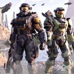 Halo Reach Armor, Halo Armor, Halo Ships, John 117, Halo Spartan, Halo Collection, Halo Game, Destiny Game, Sci Fi Armor