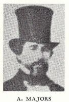 Alexander Majors ( 1814 - 1900). Best known for his shipping firm and for the Pony Express. Kansas City, Mo.
