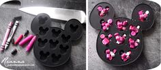 minnie mouse handmade party ideas   Hand Made By Rianna: Homemade Minnie Mouse Crayons