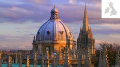 Vista panorámica de Oxford