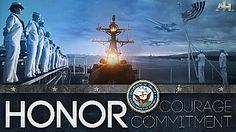 We are patriots, forged by the #USNavy's core values of Honor, Courage and Commitment. In times of war and peace, our actions reflect our proud heritage and tradition. ~~ MilitaryAvenue.com