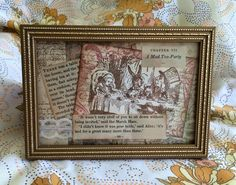 Mad Hatters Tea Party frame