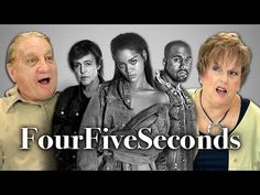 Elders React to Rihanna And Kanye West And Paul McCartney - FourFiveSeconds
