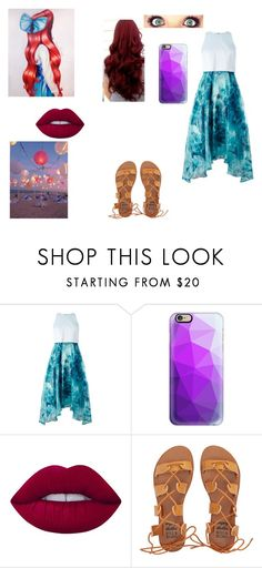 """""""Ariel formal"""" by girlwithnoluck ❤ liked on Polyvore featuring Coast, Casetify, Lime Crime and Billabong"""