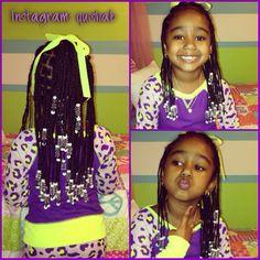 Kid hair styles #braids