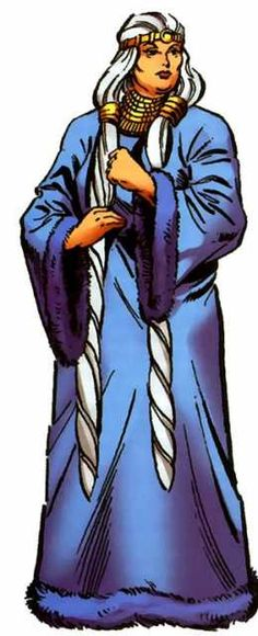 Frigga is the wife of Odin and biological mother of Balder the Brave. She is also the adoptive mother of Thor and Loki in Marvel comics. Asgard Marvel, Comic Book Heroines, Biological Mother, Power Man, Thunder And Lightning, Loki, Frigga Thor, God Pictures, Norse Mythology