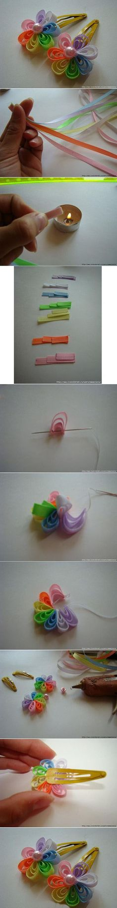 Diy Colorful Hair Clip | DIY & Crafts Tutorials