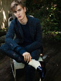 Ben Allen captured by David Armstrong and styled by Jason Rider for the Fall/Winter 2013 issue of T Magazine.