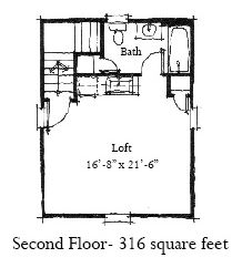 Garage Plan chp-29823 at COOLhouseplans.com 2nd floor of tower with bathroom moved because of the stairs the wet bar needs to be moved also the center closet also has to be moved