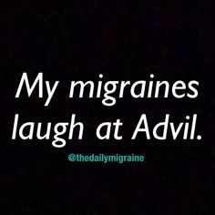 My migraine laughed at a 3 hour ER visit