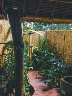 Check out this awesome listing on Airbnb: Eco Bamboo Home - Houses for Rent in Selat
