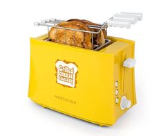 The Grilled Cheese Sandwich Toaster by Nostalgia Electrics is an amazing device capable of cooking up two grilled cheese sandwiches in the matter of Sandwich Toaster, Grilled Cheese In Toaster, Queso Fundido, Sandwiches, Bbq, Barbecue Recipes, Cheese Maker, Food Porn, Cooking Gadgets