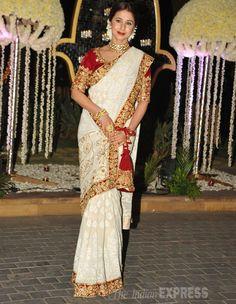 Urmila Matondkar - a bridal look