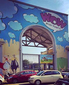 Museo del fumetto dell'illustrazione e dell'immagine animata #wow  @wow_spazio_fumetto ... Realizzato e gestito dalla #FondazioneFrancoFossati luogo di conservazione e valorizzazione della #NonaArte.  Gli spazi accoglienti sono la porta daccesso alluniverso della #narrazione per #immagini della #comunicazione e della #creatività. Qui si mescolano il #fumetto e il #cinema i mondi dei #disegni animati e della #letteratura popolare le suggestioni della musica e del gioco riportando alla memoria…