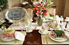 Beaux R'eves: Easter Table