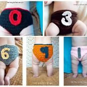 Numbers Diaper Cover Pattern - via @Craftsy