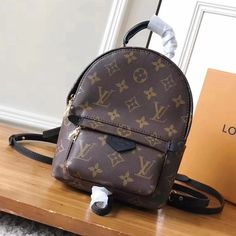 5103d885353d Louis Vuitton Monogram Canvas Palm Spring Mini Backpack M41562