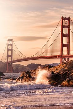 See the Golden Gate Bridge