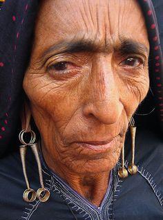 India | A Rabari woman, at Schroff Bazaar in Bhuj. | ©Meena Kadri