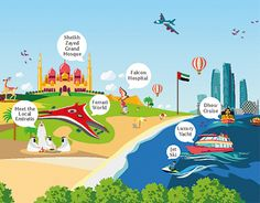 """Check out new work on my @Behance portfolio: """"My Abu Dhabi Holidays Infographic"""" http://be.net/gallery/34160509/My-Abu-Dhabi-Holidays-Infographic"""