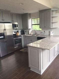3 Playful Tips AND Tricks: Small Kitchen Remodel Corner Sink tiny kitchen remodel counter tops.Kitchen Remodel On A Budget Flooring kitchen remodel granite countertops. Classic Kitchen, New Kitchen, Kitchen Decor, Awesome Kitchen, Beautiful Kitchen, 10x10 Kitchen, Kitchen Interior, Kitchen Furniture, Wood Furniture